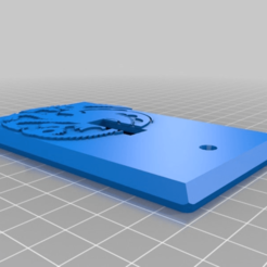 1f0834d62e01699237b804508e0a2deb.png Download free STL file Game of Thrones - House Targaryen Dragon Insignia Logo Light Switch Plate • 3D printable object, KaerRune