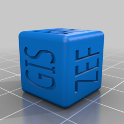 DragonDice_2.png Download free STL file Dragon Name Generating D6 Dice for Dungeons & Dragons, Warhammer and any other Table Top game • 3D printer template, KaerRune