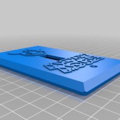 47e4fec25a41be423288a37f823b7ca6.png Download free STL file Disney Mickey Mouse Insignia Logo Light Switch Plate • 3D printer design, KaerRune