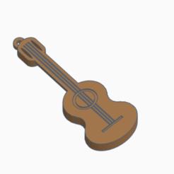 Télécharger fichier imprimante 3D LLavero guitarra Key Guitar, kiko_design7