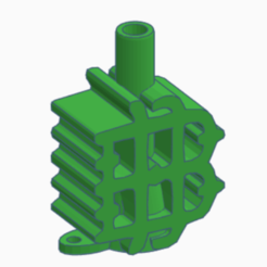 Download 3D printing designs Real Betis Balompie Mouthpiece LETRA B, kiko_design7