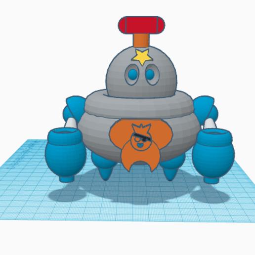 Descargar modelo 3D gratis Tick Brawl Stars, paco_egabrum