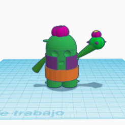 Captura de pantalla 2020-02-24 a las 16.22.58.png Download free OBJ file Spike Brawl Stars • 3D printer model, paco_egabrum