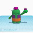 Captura de pantalla 2020-02-24 a las 16.22.58.png Télécharger fichier OBJ gratuit Les stars du combat de pics • Plan pour impression 3D, paco_egabrum