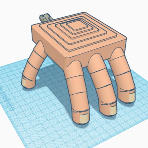 Download free 3D printing models Halloween Hand, paco_egabrum