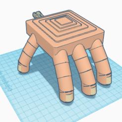 Télécharger fichier STL gratuit Main d'Halloween • Objet à imprimer en 3D, paco_egabrum