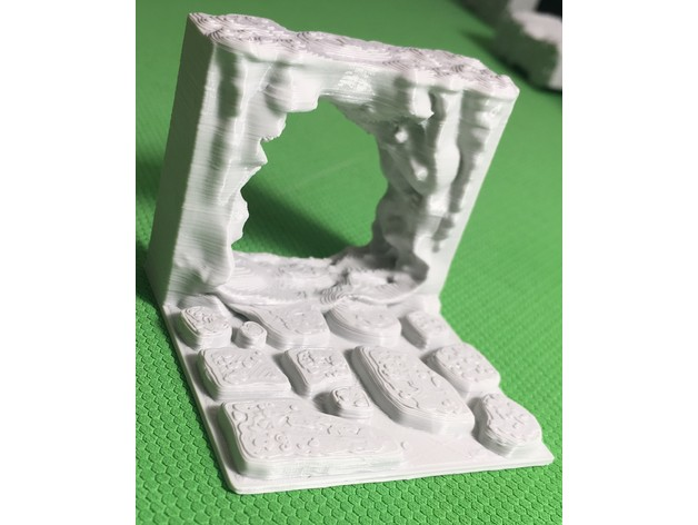 d705a48e450c22085b996bc665827245_preview_featured.JPG Download free STL file Cavern Passage (Openforge 2.0 compatible) • 3D printing object, Poxos