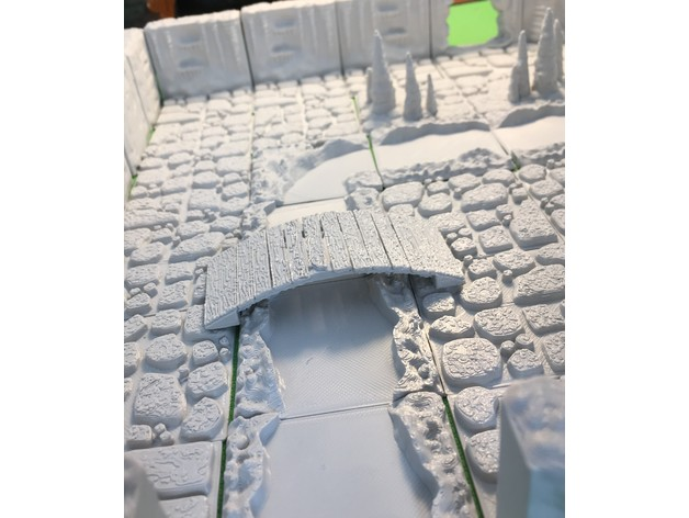 c38f67a2787dbb53cb0b25a791b42baf_preview_featured.JPG Download free STL file Cavern River Tiles (Openforge 2.0 compatible) • Template to 3D print, Poxos