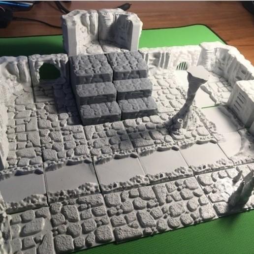 ba0d342de7d4c83f999a44b157b50c97_preview_featured.JPG Download free STL file Cavern Riser Blocks (Openforge 2.0 compatible) • Model to 3D print, Poxos