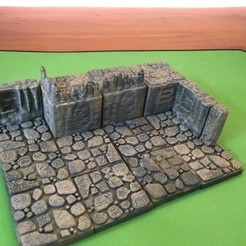 99d1c3f489a83768249480ed3d8e978e_preview_featured.JPG Download free STL file Cavern Elevated Tiles (Openforge 2.0 compatible) • Model to 3D print, Poxos