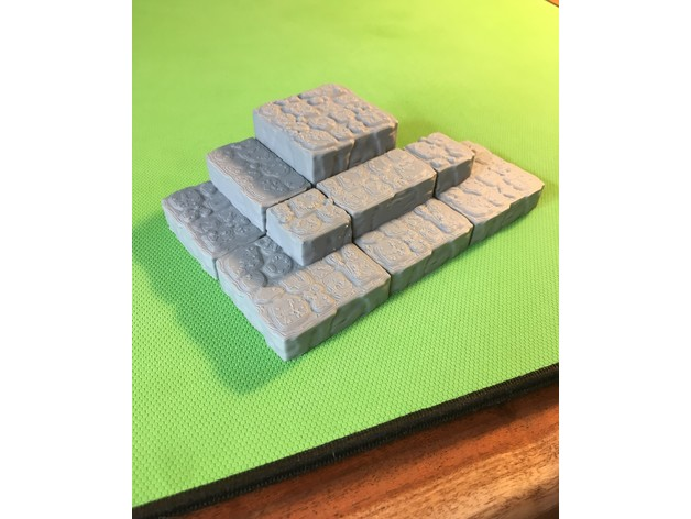 3c467171fa3f46ab5bcf0fd45600a7b3_preview_featured.JPG Download free STL file Cavern Ascents/ Steps (Openforge 2.0 compatible) • 3D printer object, Poxos