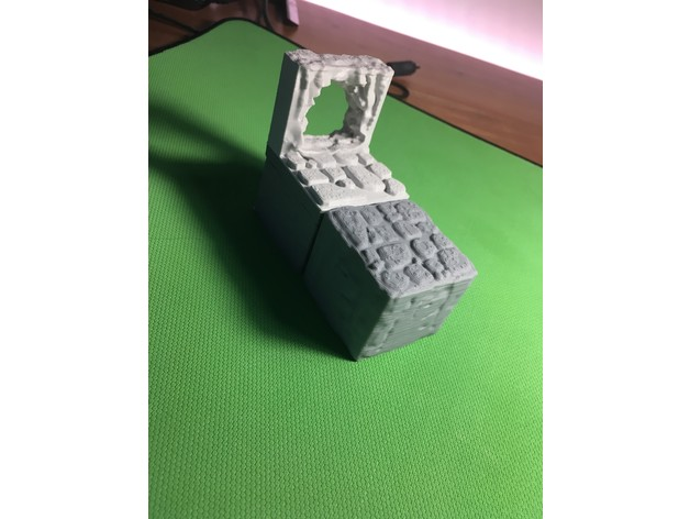 fe1460c573b46ec0c55e5ec04c6b3150_preview_featured.JPG Download free STL file Cavern Riser Blocks (Openforge 2.0 compatible) • Model to 3D print, Poxos