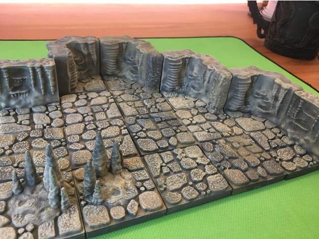 d0dd7077e06ecff1b0d458d1234ef9b9_preview_featured.JPG Download free STL file Cavern Tiles (Openforge 2.0 compatible) • 3D printing model, Poxos