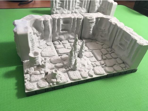 3b19e44d245cf3ffc34514939b02e76b_preview_featured.JPG Télécharger fichier STL gratuit Carreaux de caverne (compatibles Openforge 2.0) • Modèle pour imprimante 3D, Poxos