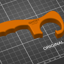 Download free 3D printing models  Door opener - fight Coronavirus (Covid-19), Ghost_Design