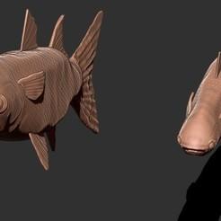FOTO1.jpg Télécharger fichier STL LISA FISH • Modèle à imprimer en 3D, GIGAN3D