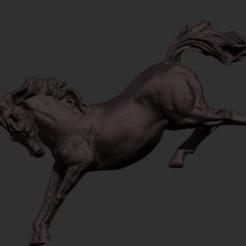 foto de caballo.png Télécharger fichier STL Un cheval qui bat • Objet pour impression 3D, GIGAN3D
