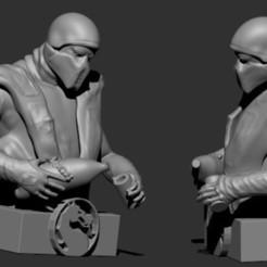 Download free 3D printing templates RAIN HANDS, GIGAN3D