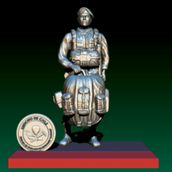 dwdwd.png Download STL file Soldier of chile • 3D printer object, GIGAN3D