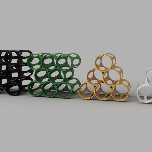 Download free 3D printer designs Minimalist Wine Rack, Oggie