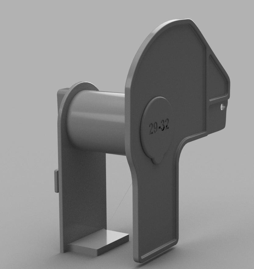Capture1_display_large.jpg Télécharger fichier STL gratuit Bobine d'imprimante Brother Label DK • Design pour imprimante 3D, Oggie