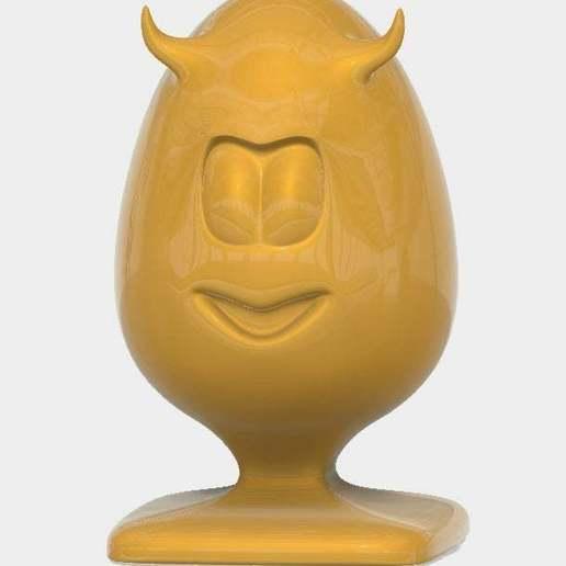 Evil_egg_display_large.jpg Télécharger fichier STL gratuit Mauvais Oeuf • Design pour imprimante 3D, Oggie