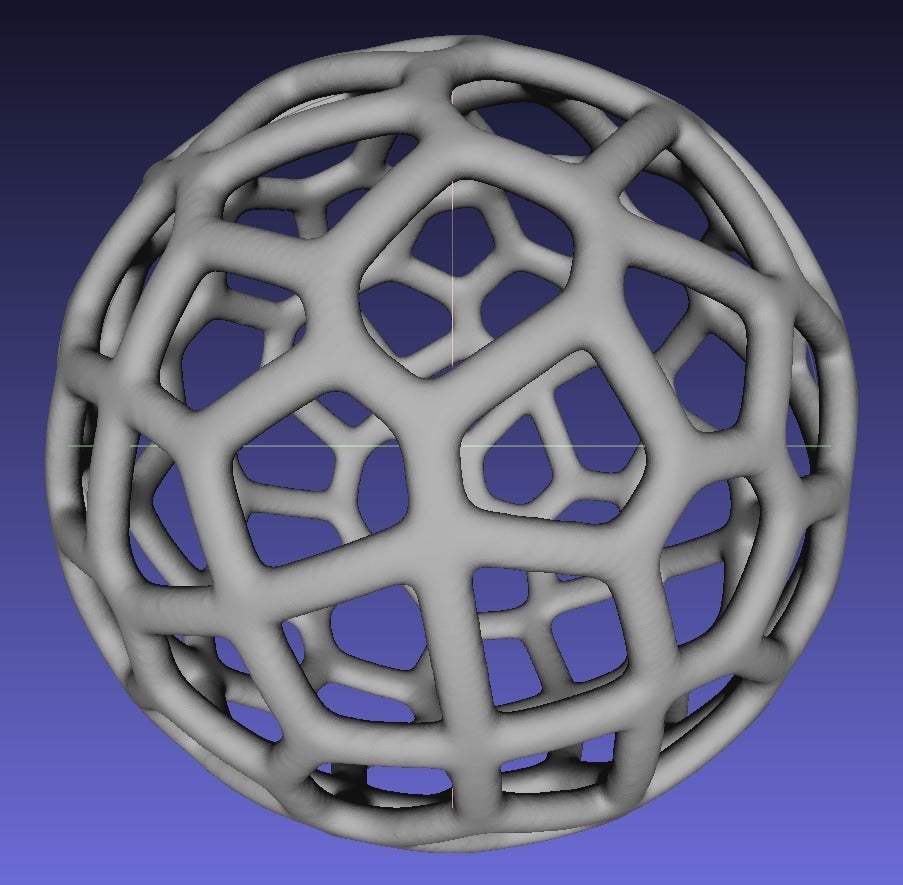 Mesh_Lab_Capture_display_large.jpg Download free STL file Voronoi Ball • Object to 3D print, Oggie