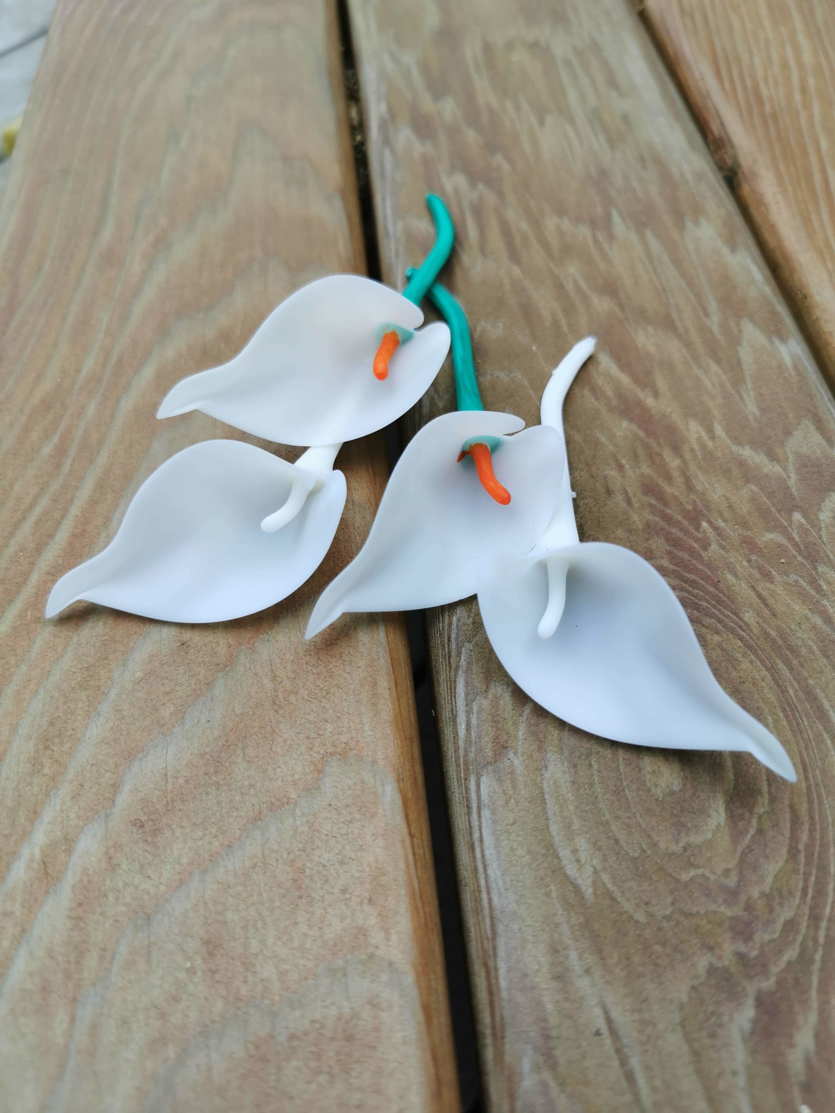 Lily_2.jpg Download free STL file Cala Lily • 3D printer template, Oggie