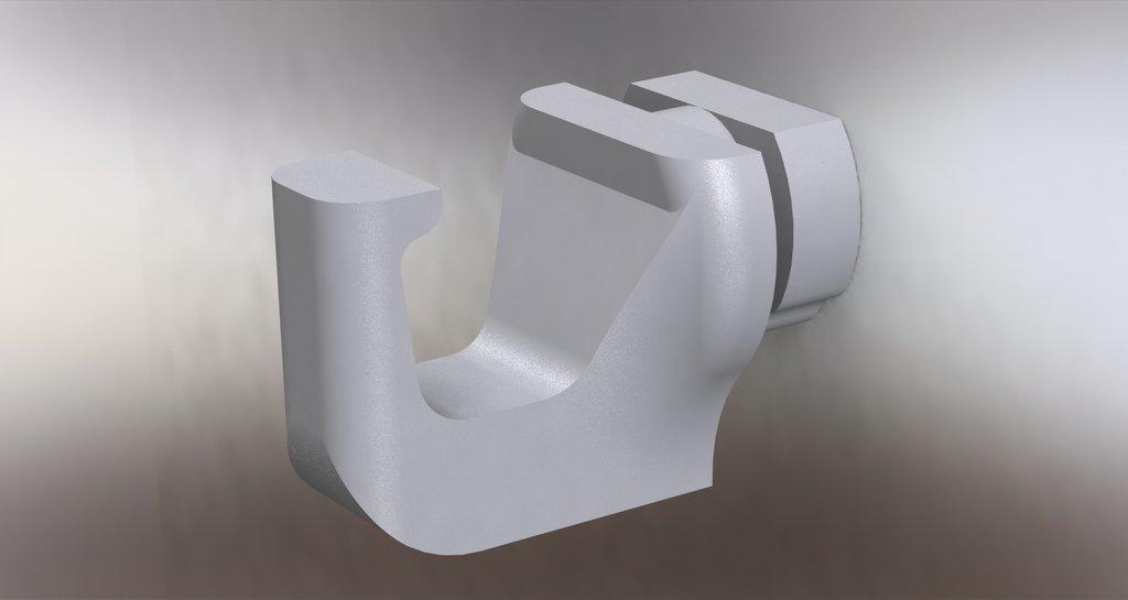 render_display_large.jpg Télécharger fichier STL gratuit Crochet d'étagère • Objet pour imprimante 3D, Reshea