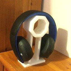Download free STL Headphone or Headset Stand, Reshea