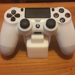 Free 3D printer model PlayStation 4 (PS4) Controller Stand, Reshea