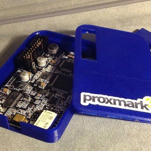 Download free 3D printing files Proxmark 3 RFID Board Enclosure, Reshea
