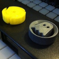 Free 3D print files Ghostly 45RPM Adapters, Reshea