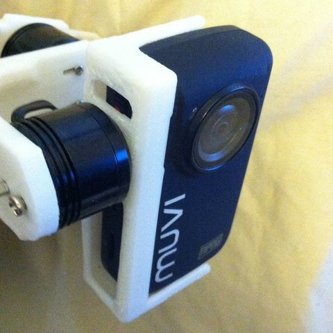 Download free 3D print files Veho MUVI NPNG Camera Holder for TBS Discovery Brushless Gimbal, Reshea