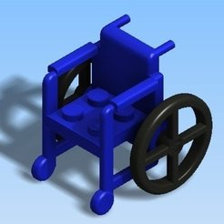 Free STL files Lego Wheel Chair, Clenarone