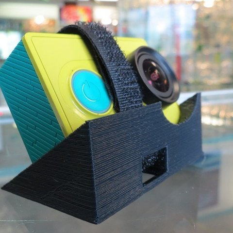 Download free 3D printing templates Xiaomi Yi - 30 Degree mount, Clenarone