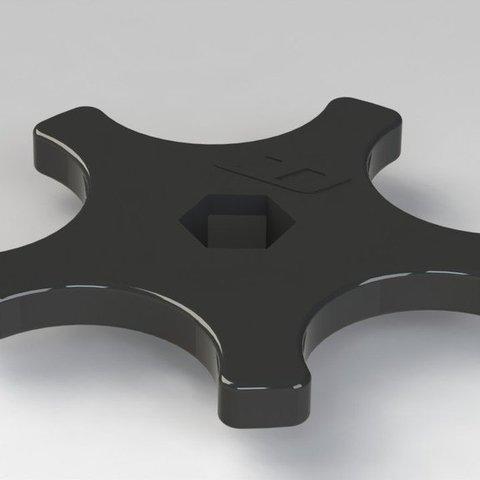 Descargar modelos 3D gratis Ajustador de precarga de motocicleta, Clenarone
