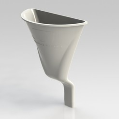 1_display_large.jpg Download free STL file Motorbike Engine Oil Funnel • 3D printing model, Clenarone