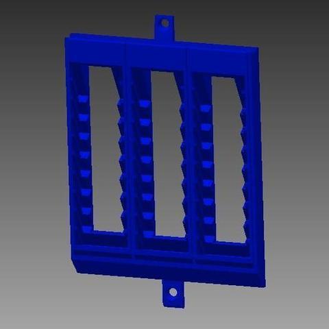 Download free 3D model Nintendo Ds wall rack chopped, Clenarone