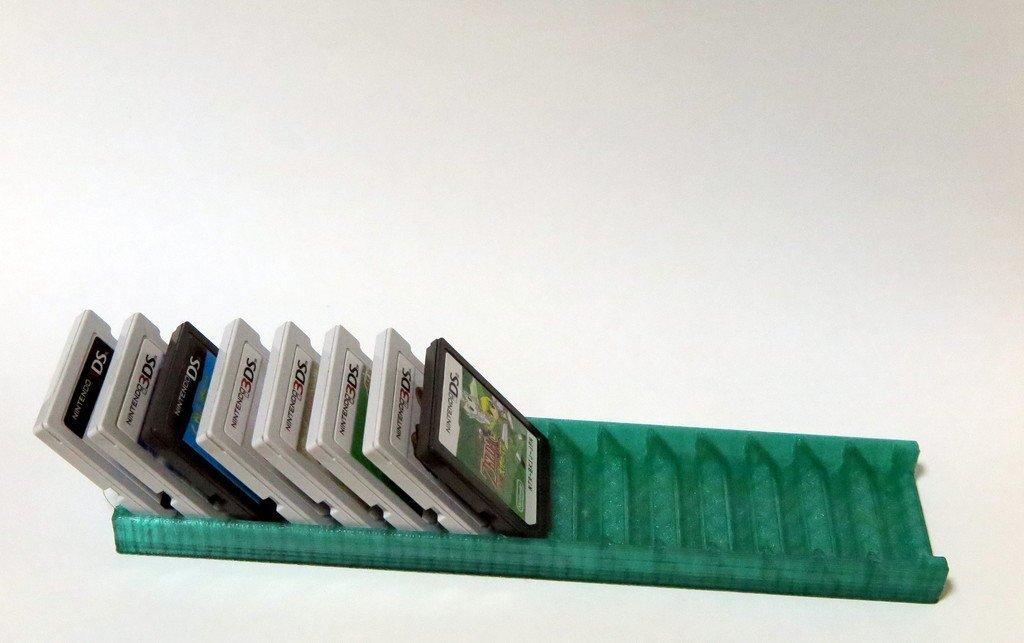 IMG_0616_display_large.jpg Télécharger fichier STL gratuit Nintendo ds / 3ds porte-cartes de jeu • Design pour imprimante 3D, Clenarone
