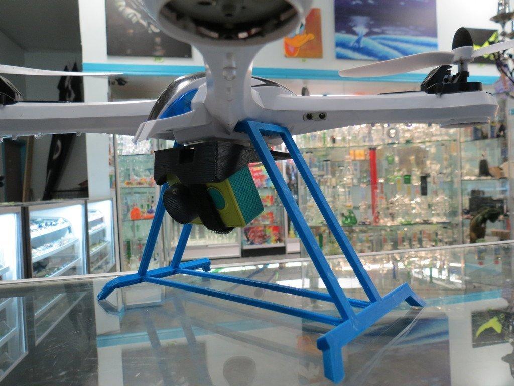 IMG_4330_display_large.JPG Télécharger fichier STL gratuit Yizhan Tarantula X6 - Train d'atterrissage hors de vue - Quadcoptère • Design imprimable en 3D, Clenarone
