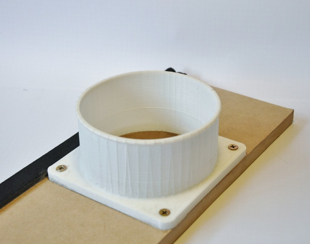 DSC_1167_2_display_large.jpg Download free STL file 100mm Duct Flange • 3D printer object, Odrenria