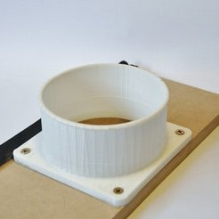 DSC_1167_2_display_large.jpg Download free STL file 100mm Duct Flange • 3D printer object, Odrenria