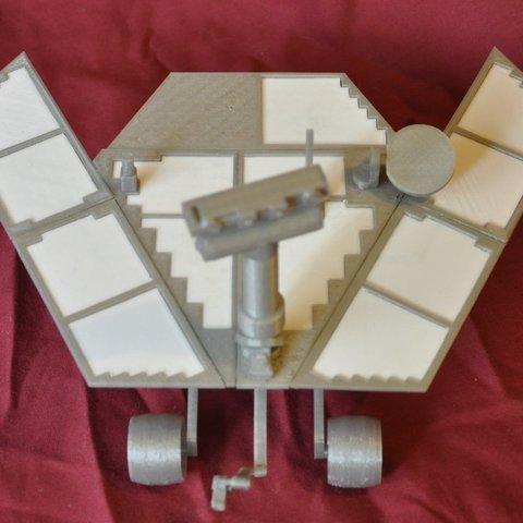DSC_1317_display_large.jpg Télécharger fichier STL gratuit Mars Rover : Opportunité - Remix • Objet pour imprimante 3D, Odrenria