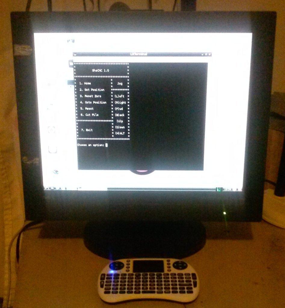 ShaCNC4_display_large.jpg Download free STL file Shapeoko 2 Raspberry Pi B+ Workstation • 3D printable template, Odrenria