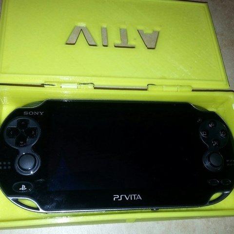 Download free 3D printer designs Playstation Vita Carry Case