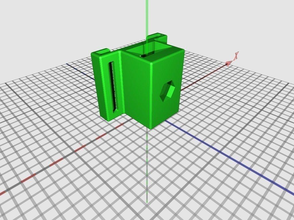 """tripod_holder_for_MS_LifeCAM_display_large_display_large.jpg Download free STL file Tripod Holder for MS LifeCAMâ""""¢ • 3D print design, Odrenria"""