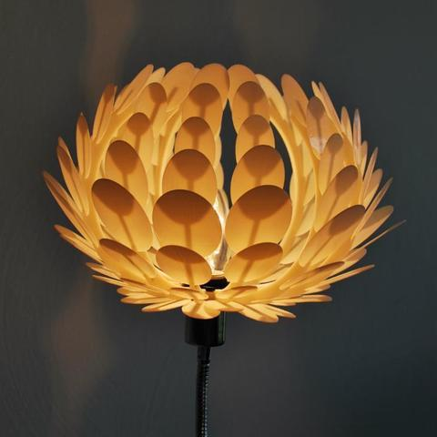 Download free 3D printing designs Lotus lamp, Odrenria