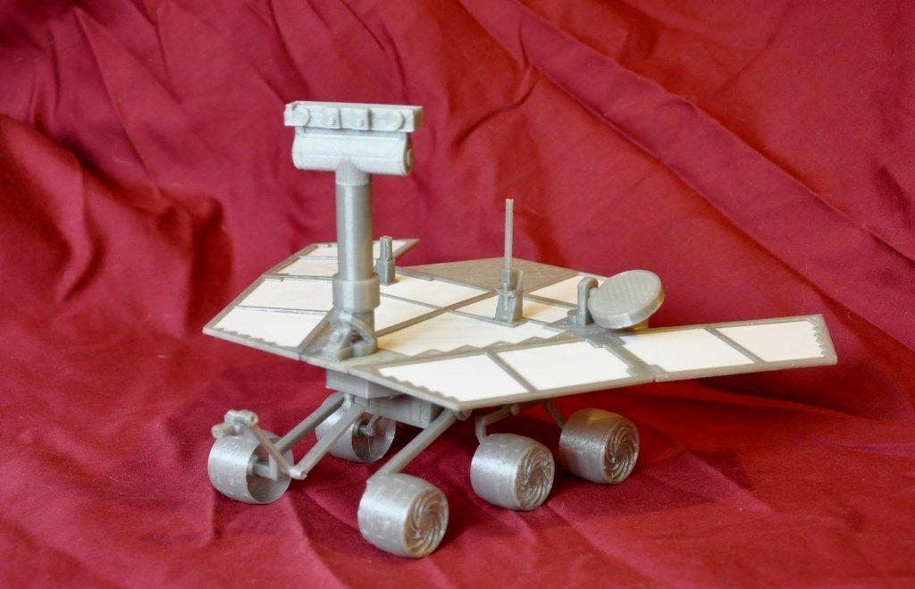 DSC_1313_display_large.jpg Télécharger fichier STL gratuit Mars Rover : Opportunité - Remix • Objet pour imprimante 3D, Odrenria