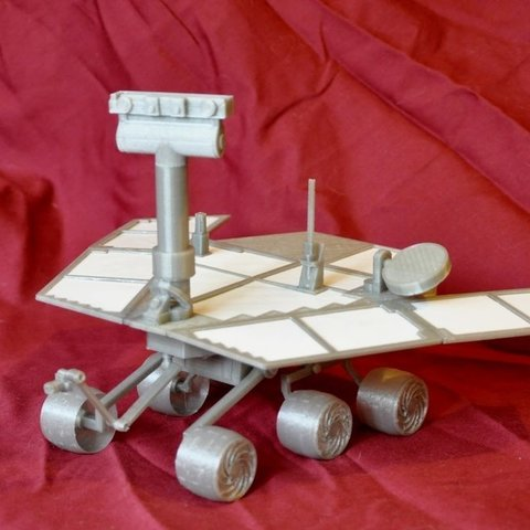 Download free 3D printing templates Mars Rover : Opportunity - Remix, Odrenria
